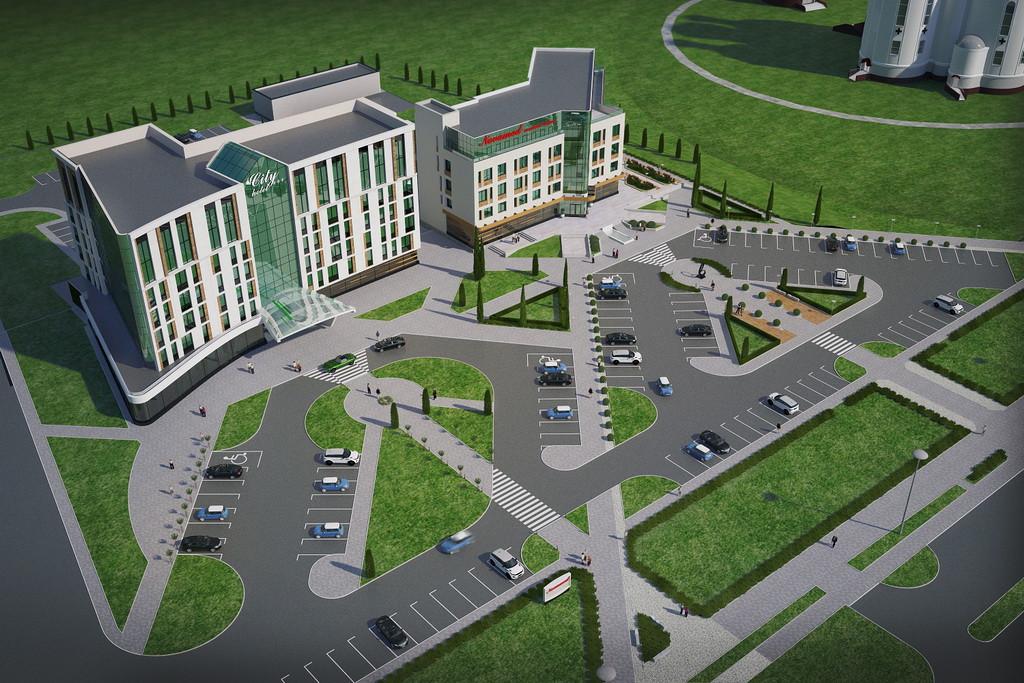 "Construction of the medical center ""NOVAMED"""